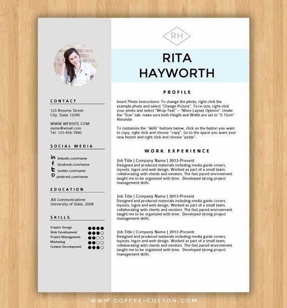 Best Resume Templates Word Lovely Best 25 Free Cv Template Ideas On Pinterest In 2020 Cv Template Free Downloadable Resume Template Free Resume Template Download
