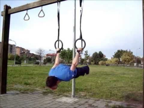 Gymnastics Ring Training - Strength Routine WOD 250513 - Allenamento di ...