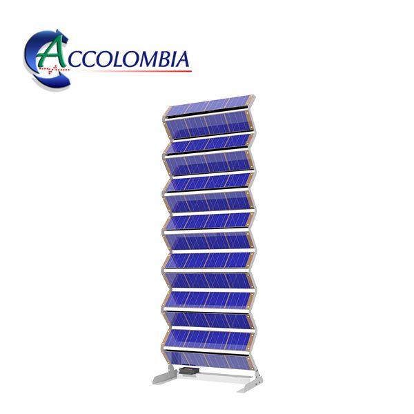 Paneles Fotovoltaicos Verticales Torre Solar 3D
