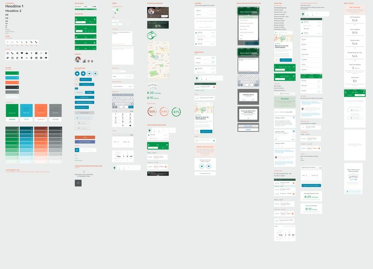 Mobile ui library