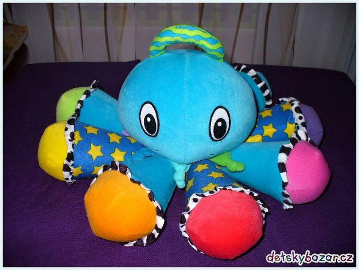 Hrající chobotnice LAMAZE z bazaru
