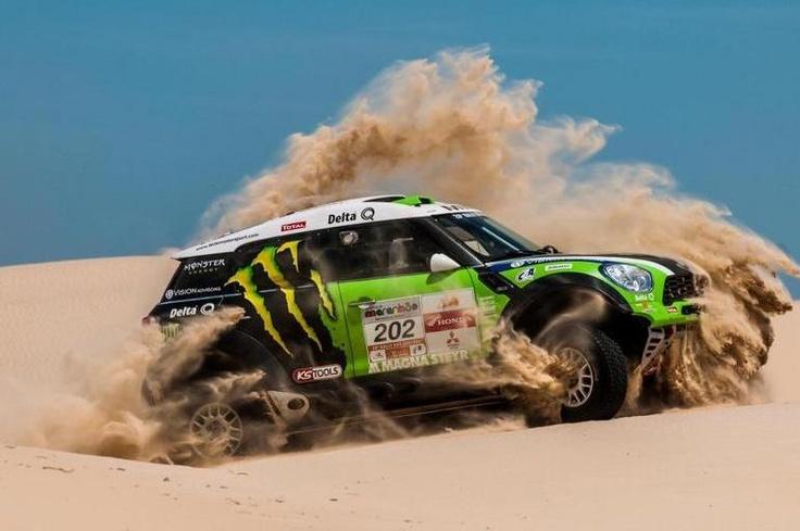 Monster Energy Drink® | Sports - Monster Energy X-raid MINI ALL4 @ Dakar Pre Proloog Valkenswaard