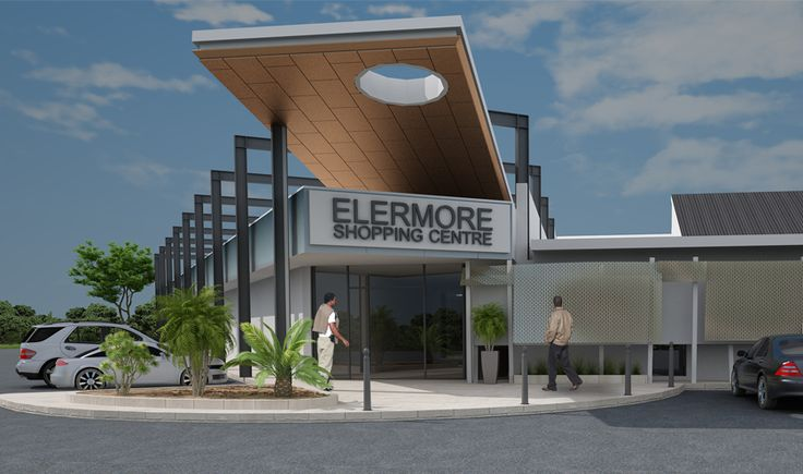 Shopping Centre #Architects ... Elermore Shopping Centre. Newcastle, New South Wales. Shopping centre which focused more trade into the smaller tenancies, giving the centre a far greater street presence and greatly enhancing the experience of the main #mall.
