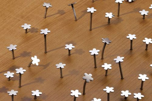 Flower Nails.: Flowernail, Decor Crafts, Cute Nails, Flower Nails, Nails Flower, String Art, Cutest Nails, Industrial Design, Baby Stuff