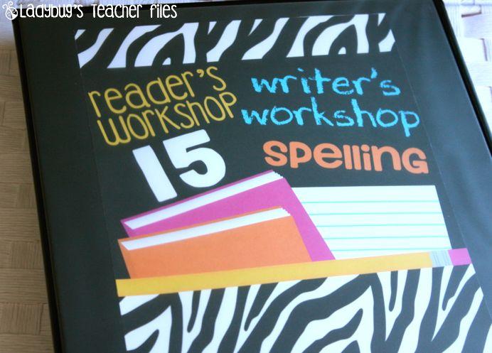 Ladybug's Teacher Files: Reader's, Writer's, and Spelling Binders