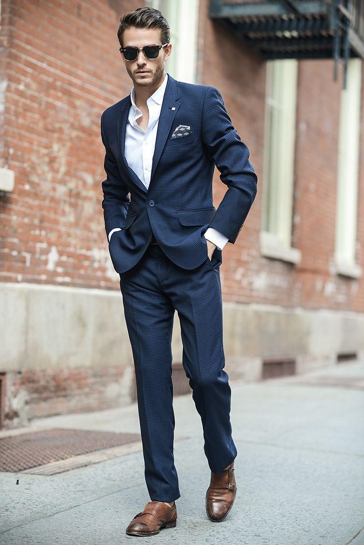 155 best Trajes hombre images on Pinterest | Fashion for men, Suit ...