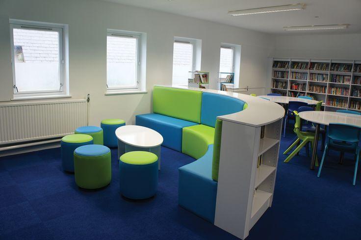 A School Library created by Incube Ltd for Ysgol Dyffryn