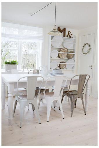 Tolix 'A'Chair.  VanessaLarson.com