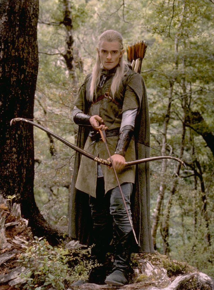 Orlando Bloom | Legolas | Lord of the Rings/The Hobbit Somehow hotter now, so flawless, purist can cry about accuracy. I was too busy staring at turquoise eyes.