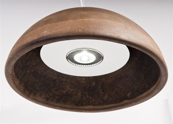 Coffee Grounds Table Lamp