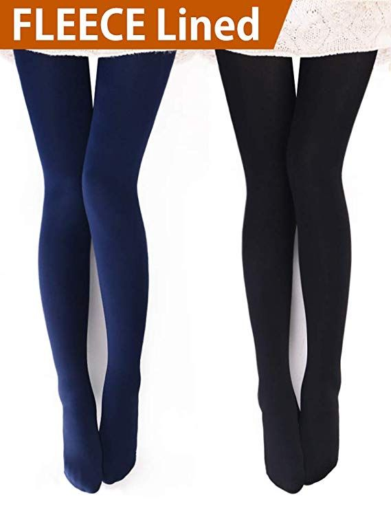 eb9d8f6e5 VERO MONTE Womens Opaque Warm Fleece Lined Tights - Thermal Winter Tights    Read more reviews of the product by visiting the link on the image.