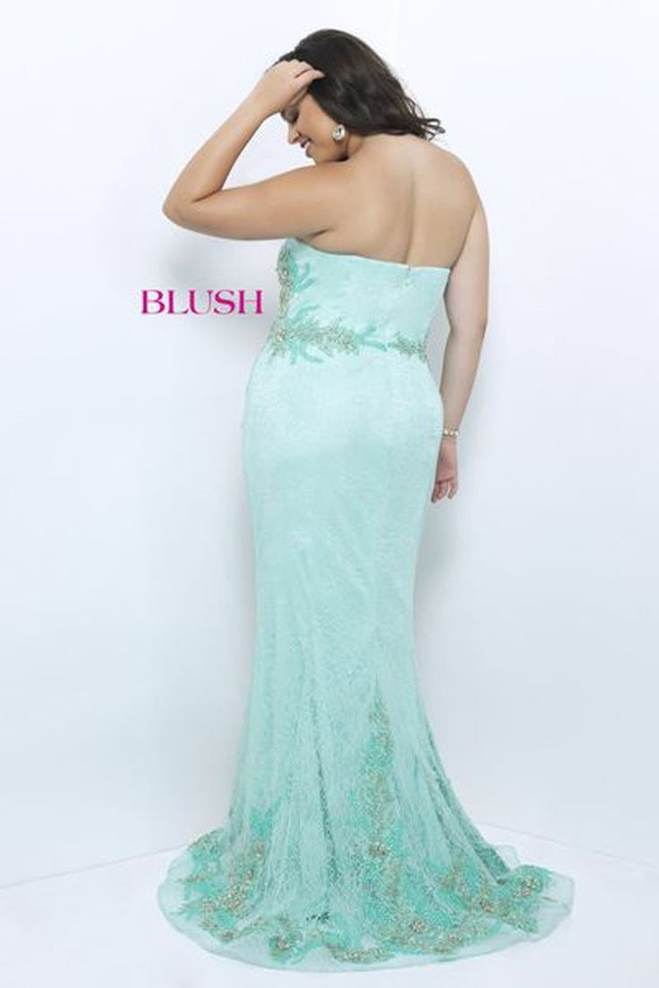 40 best Blush Prom Plus Size Dresses images on Pinterest