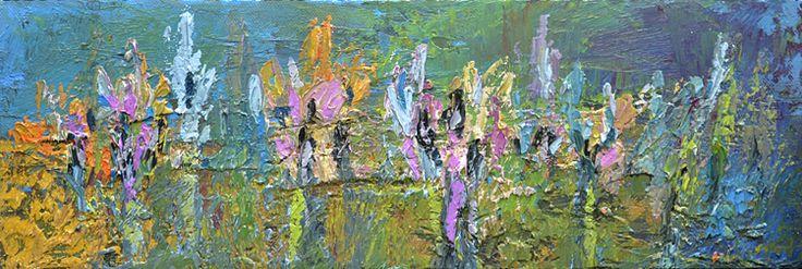 Willie van Rensburg Beyond 78 Oil on canvas (26 x 20cm)