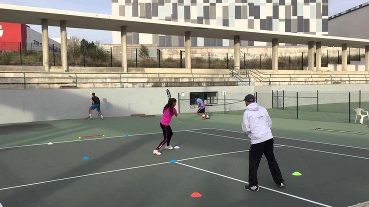 Tennis Pre Season 2015 - Coordinative intermitent circuit on court