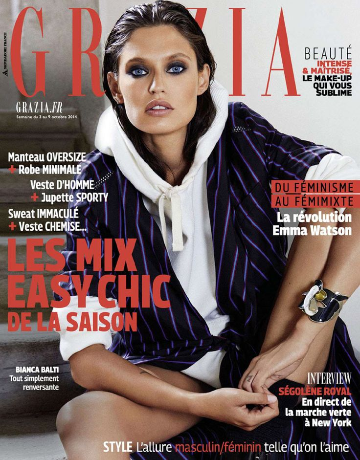 Bianca Balti for Grazia France by Fabio