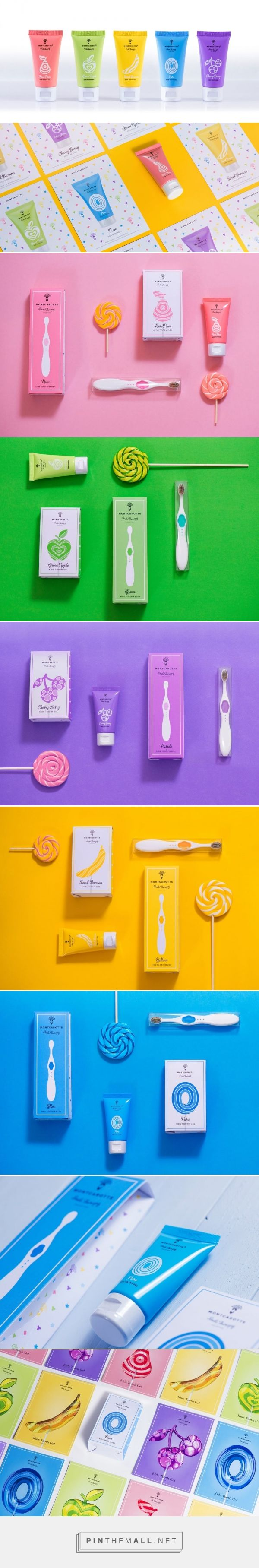 MontCarotte Kids Tooth Gel Collection by MontCarotte Creative Buro