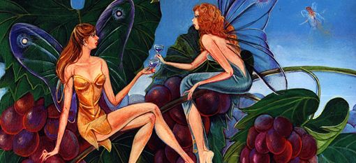 The Irish, Fairies and Wine http://drinksfeed.com/the-irish-fairies-and-wine/