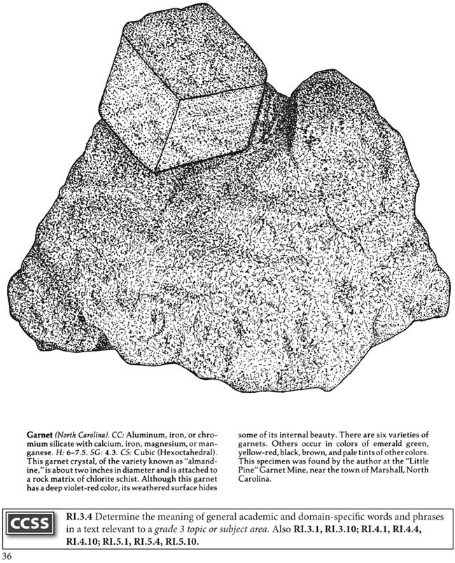 rocks and minerals coloring pages - photo#31