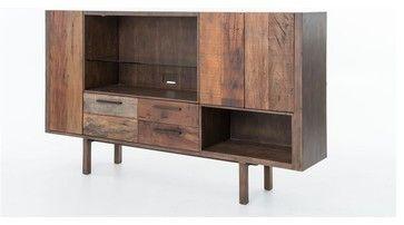Mick TV Media Cabinet - rustic - Media Storage - Masins Furniture