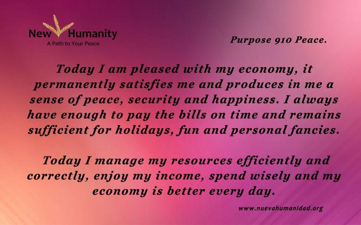 Purpose 910 Peace