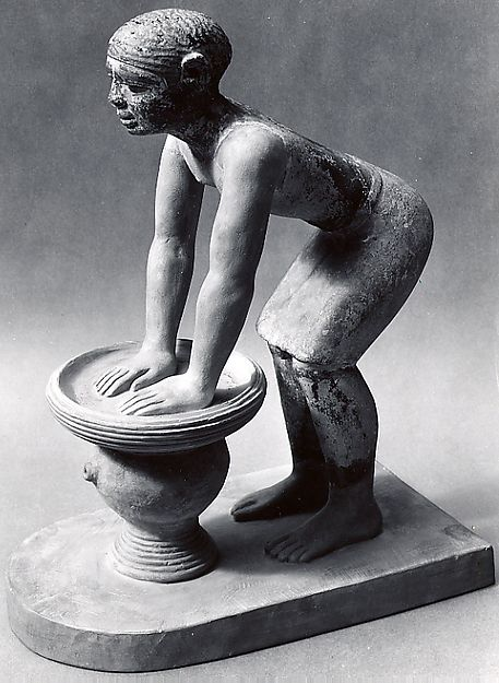 Figure of a male beer-maker | Old Kingdom | The Metropolitan Museum of Art