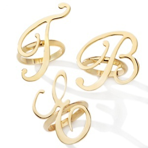 Technibond™ Laser Cut Script Initial Ring at HSN.com.: Cut Scripts, Scripts Initials, Initials Rings, Technibondtm Laser, Laser Cut, Initial Rings, Jewelry Scripts, Accessories, Rings 49 90