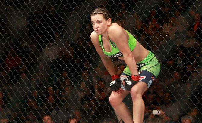 Miesha Tate On Ronda Rousey: 'I Think The Third Time Will Be The Charm' #mieshatate #rondarousey #mma #ufc #jessicaeye