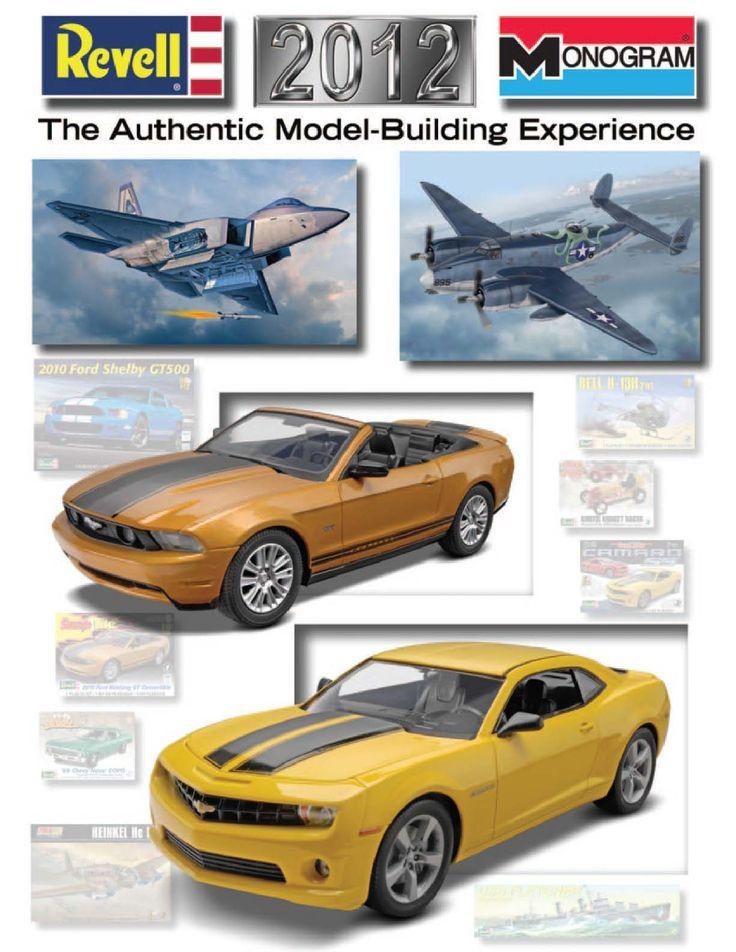 Page 1 - Revell Monogram Catalog 2012 - Plastic Kits - Model Kits - Scale Modeling