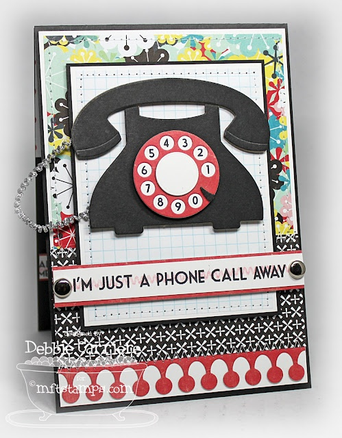 114 best cards telephone images on pinterest cardmaking making card telephone old fashioned phone mft telephone die namics call me ring my favorite things phone die and stamp set mft ring me stamps and die namics m4hsunfo