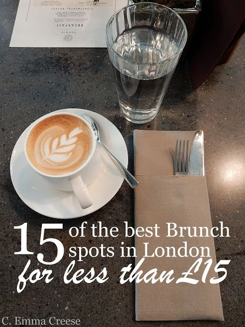 15 of the best brunch spots in London for under £15 - Adventures of a London…