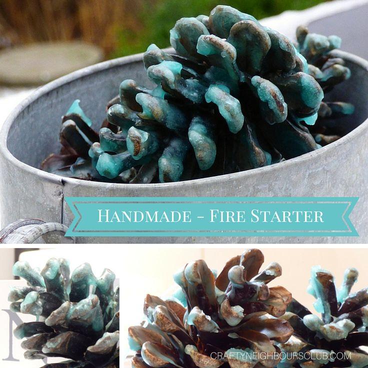 Selbstgemachte Kaminanzünder sindb ein tolles Geschenk, nicht nur zur kalten Jahreszeit! Wie es ganz einfach geht, erfährst du im Blog