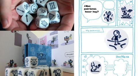 Taller para niños: 'Creamos un comic con Story Cubes'