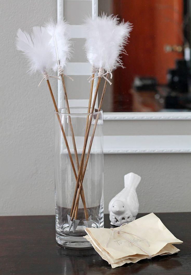 10 idées DIY pour faire des flèches Décoratives