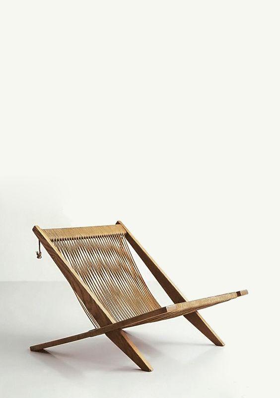 Poul Kjaerholm and Jorgen Hoj. JH 106 lounge chair. Photography by Jens Bangsbo Fonte: Poul Kjaerholm (forniture architect)