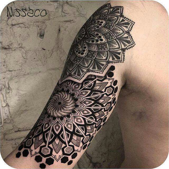 17 best images about tattoo inspiration on pinterest for Arm mural tattoos