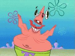 Crazy Patrick GIF - Crazy Patrick Spongebob - Discover & Share GIFs