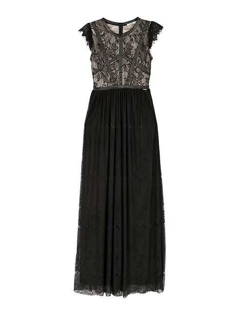 The maxi lace dress
