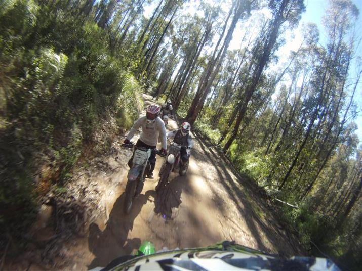 Brilliant times on Adventure bikes or Dirt Bikes