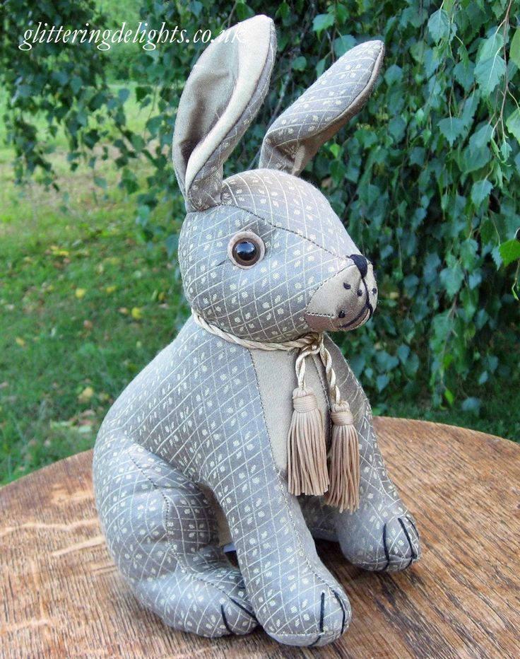 Glittering Delights - Bob Rabbit Doorstop