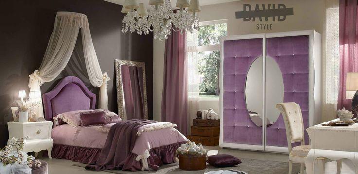 Luxury bedroom Camera da letto barocco moderno DavidStyle for your house #luxuryfurniture #bedroombaroque #furnituremadeinitaly