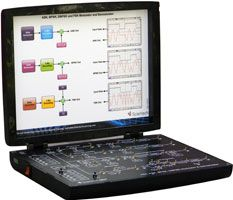 Scientech 2807 provides an extensive hands-on Amplitude Shift Keying, Frequency Shift Keying, Binary Phase Shift Keying, Differential Binary Phase Shift Keying Modulator and Demodulator. Student can study and analyze ASK , FSK, BPSK and DBPSK modulation and demodulation.  Scientech TechBooks are compact and user-friendly learning platforms to provide a modern, portable, comprehensive and practical way to learn Technology. Each TechBook is provided with detailed Multimedia learning material…