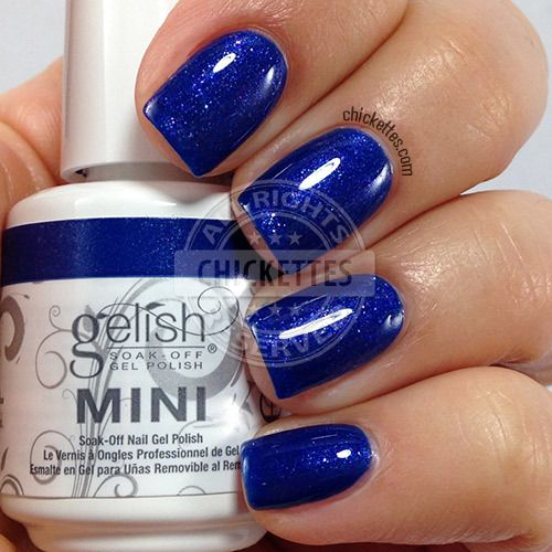 Gelish Cinderella Collection - Live Like There's No Midnight - swatch by Chickettes.com