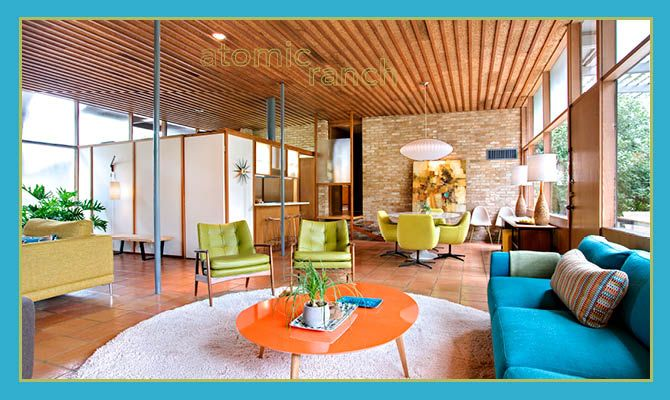 atomic ranch houses   Atomic Ranch   nest modern design culture