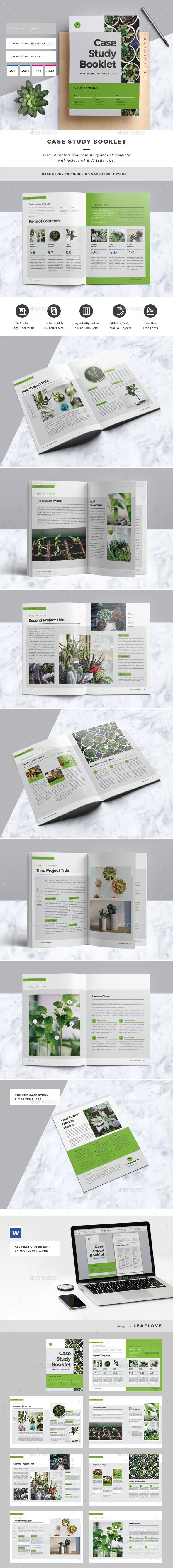 Case Study Booklet Template 	InDesign INDD. Download here: http://graphicriver.net/item/case-study-booklet/16912181?ref=ksioks