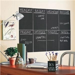 Peel and Stick Chalkboard Panels: Sticks Chalkboards, Chalkboards Panels, Chalkboards Squares, Chalkboards Paintings, Bulletin Boards, Chalkboards Calendar, Chalkboards Labels, Chalkboards Wall, Kids Rooms