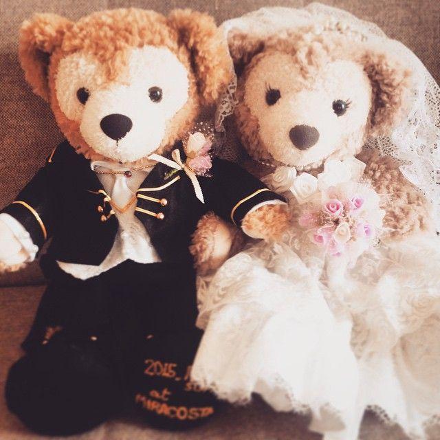 --- 結婚式準備専用のアカウント、  やる気出るよ! と聞いて作って見ました( ¨̮ )  後半年もないのに準備はまだまだ。 楽しみな反面、焦りも…(´•ω•̥`)。 まだゲストも決まらない。  でも素敵な一日になるように 楽しみながら頑張ります!٩( 'ω' )و  #プレ花嫁  #ブライダルベア は #母 の #手作り  #10月挙式  #ダッフィ #ウェルカムドール #準備まだまだ