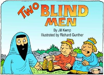 a comparison of the story of the healing of the blind man between the gospels of luke and mark Jesus heals the blind (matthew 9:27-31, mark 8:22-26, luke 18  21) the healing of a man born blind  specific miracles of jesus christ.