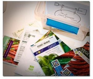 Those peppers in this blog post started w/ a seed!  @seedkeeperCo: Blog Post, Post Started, Garden Seeds