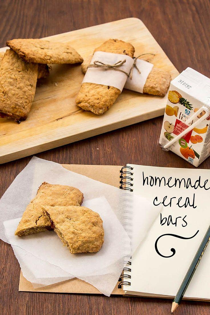 my blissfood: Μπάρες δημητριακών γεμιστές με μαρμελάδα