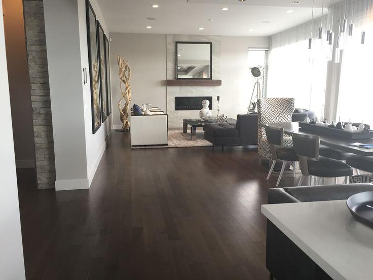Smoky Grey, Essential, Hard Maple, Essential   Lauzon Hardwood Flooring